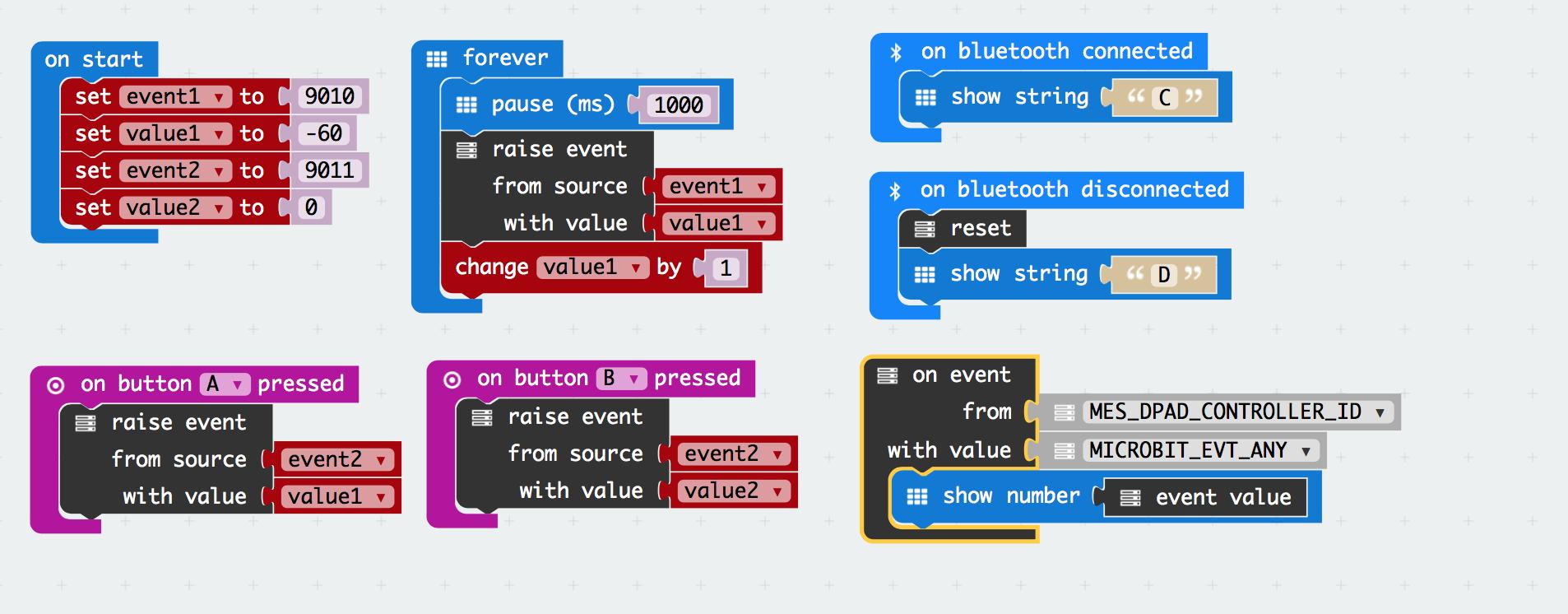 Micro:bit Swift Bluetooth LE